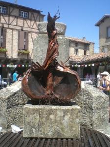 Garlic Sculpture